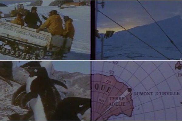 Les hommes d'aujourd'hui au pôle sud (Le monde selon Georges)