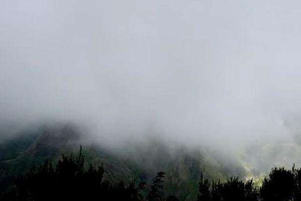 Nuages sur La Réunion