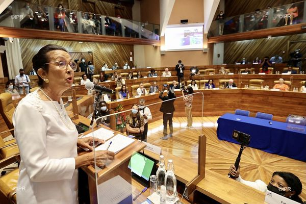 L'élection d'Huguette Bello à la présidence de la Région.