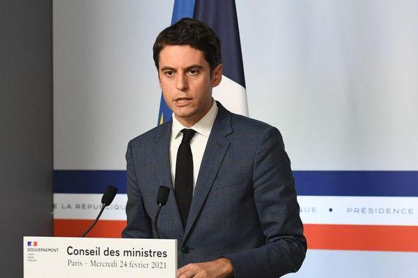 Gabriel Attal Porte parole du gouvernement