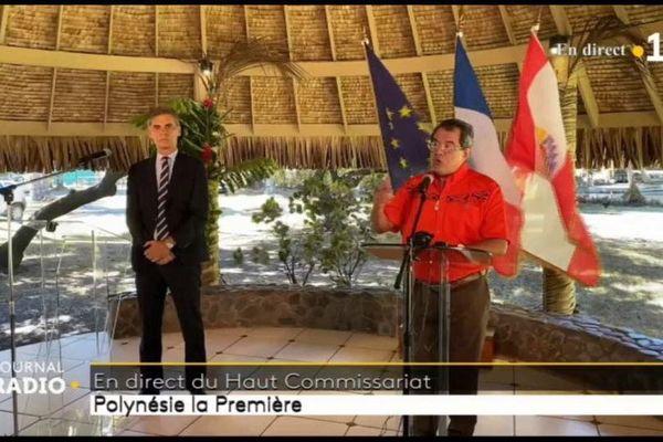 dominique Sorain et Edouard Fritch