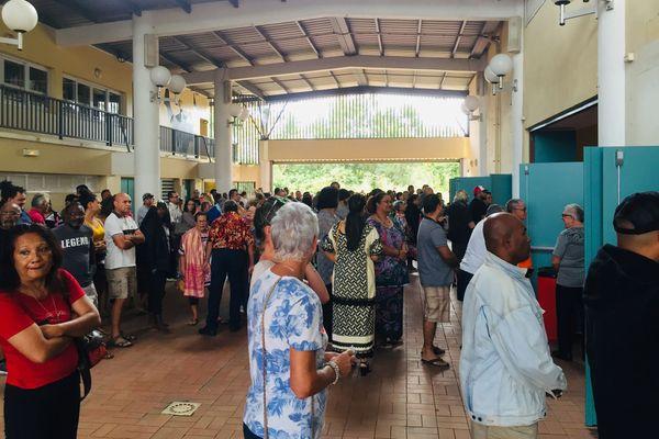 Référendum affluence dock socio culturel paita
