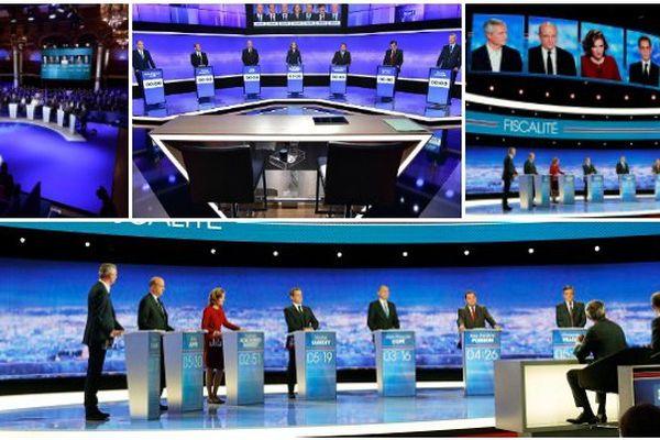 Débats de la primaire de la droite