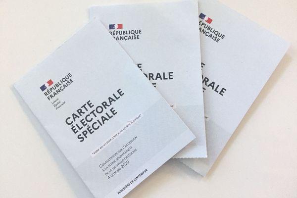Référendum 2020, cartes électorale sspéciales