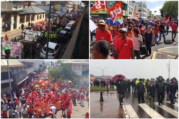grève du 5 décembre outre-mer
