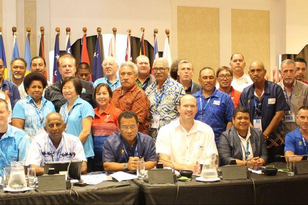 Réunion du Conseil des Jeux du Pacifique, Samoa, 14 juillet 2019
