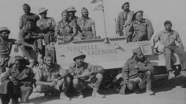Les volontaires du Bataillon du Pacifique