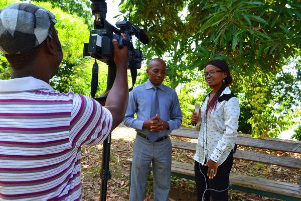 L'équipe de Mayotte 1ère C'Net