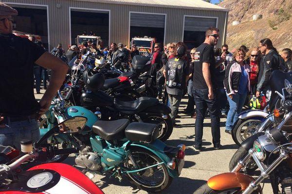 Parade des motards