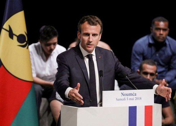 NC Macron discours