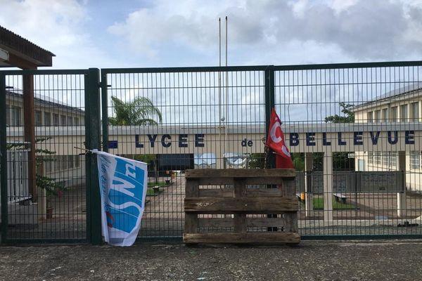 Blocage lycée bellevue