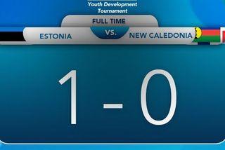 Score du youth development tournament, 24 août 2019
