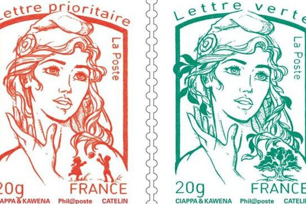 timbre nouvelle Marianne