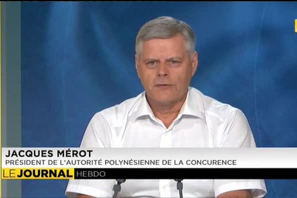 Invité du journal : Jacques Merot Président de l'Autorité Polynésienne de la Concurrence.