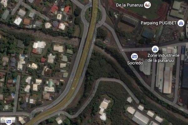 Accident mortel à Punaauia