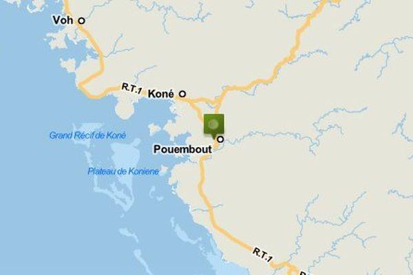 Carte Pouembout