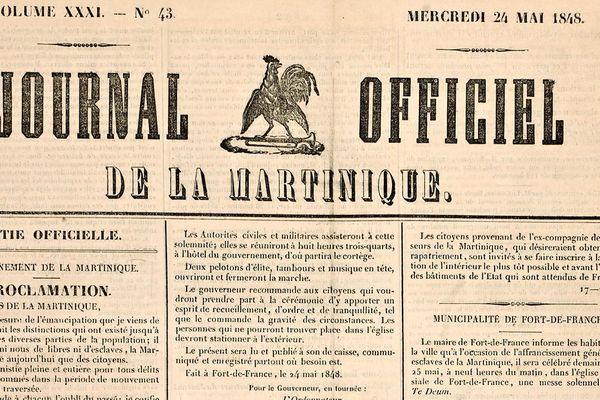 Journal officiel 1848