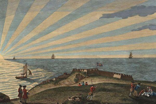 Le fort Royal (Vieux-Fort) sous les couleurs anglaises