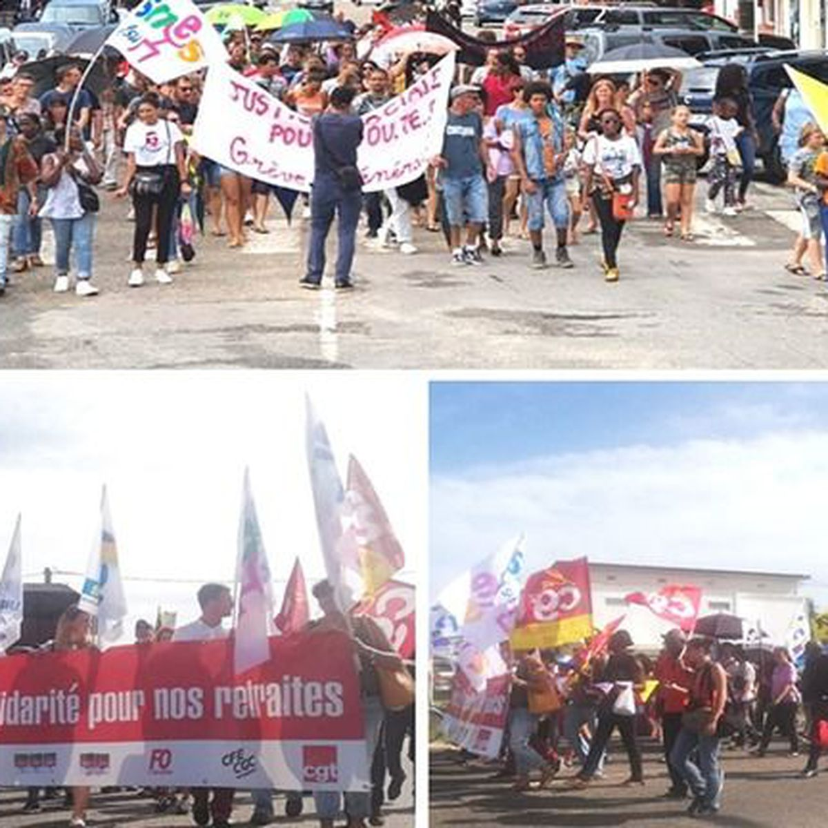 Faible mobilisation en Guyane pour la deuxième journée d'action contre le projet de réforme des retraites
