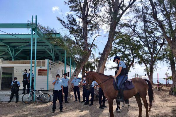 Gendarmerie poste lagon pour l'été austral