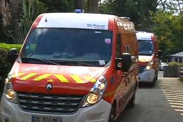 Nouveaux camions pompiers