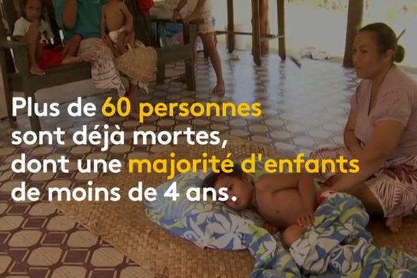 Épidémie de rougeole aux Samoa