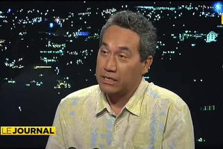 Marcel Tuihani, président délégué du Tahoeraa Huiraatira