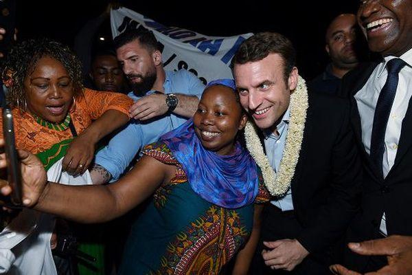 Macron à Mayotte 26 mars 2017
