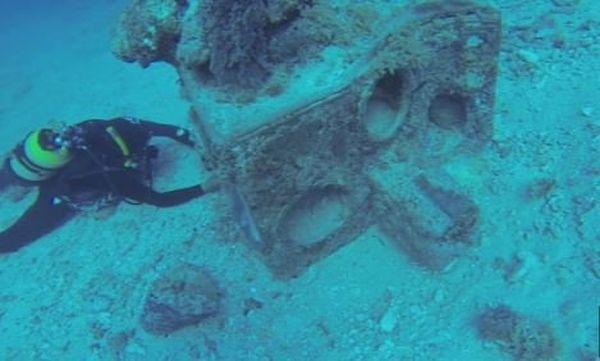 dessalinisateur 19è siècle immergé à Pouébo