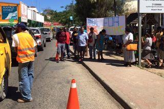 Eruption du Lombenben à Ambae: solidarité à Port-Vila 1 (29 septembre 2017)