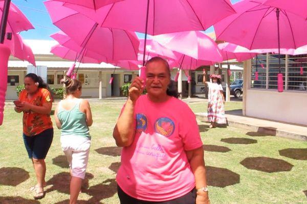 octobre rose Nuku Hiva cancer du sein
