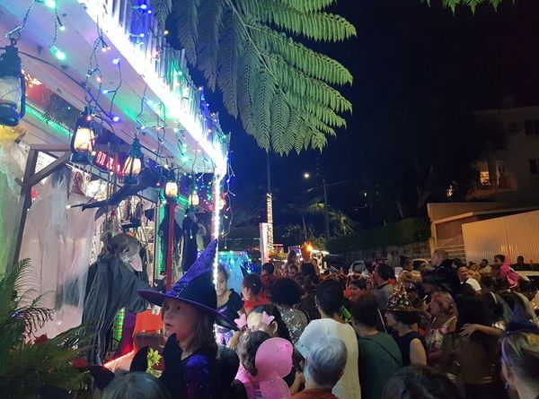 Halloween 2020, maison Martin de l'Anse-Vata