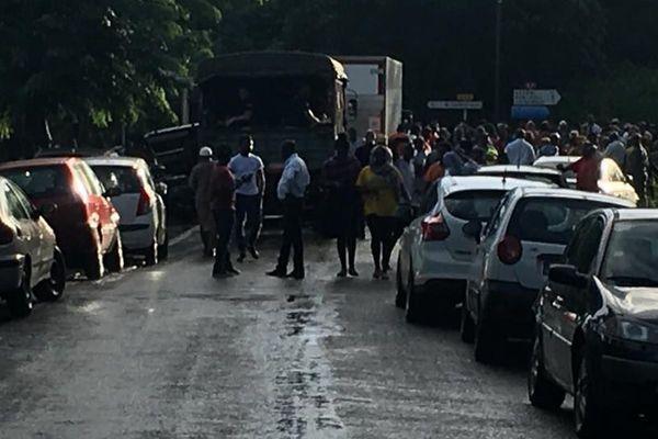 Blocage du carrefour Ngwézy
