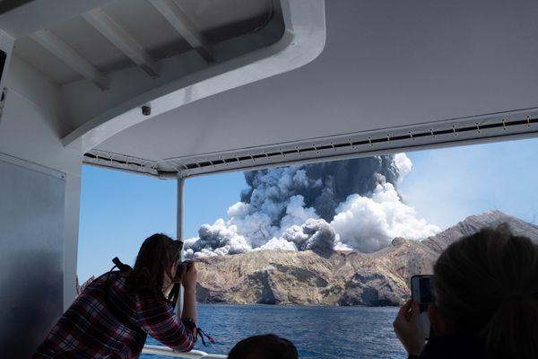 Eruption volcan NZ