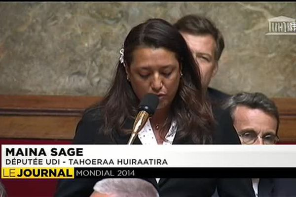 Maïna Sage questionne le gouvernement sur le financement du RSPF