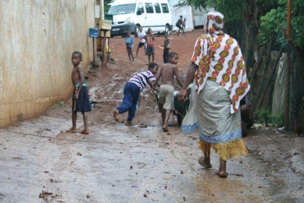 Un enfant noyé à Kaweni