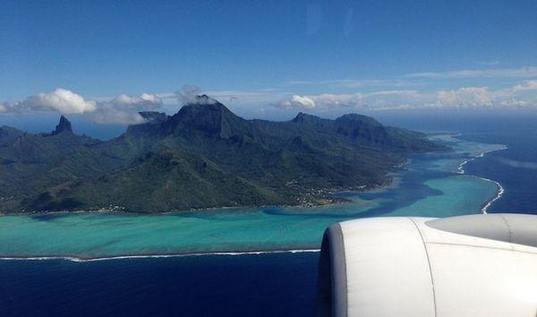 Survol Tahiti