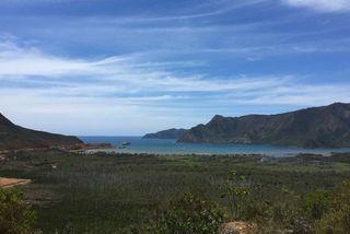 Minéralier NMC baie de Kouaoua