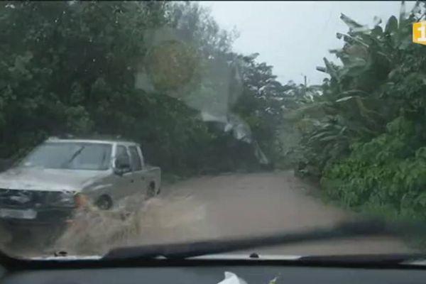 Les routes sont innondées