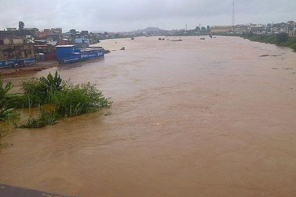 Crue des rivière à Tana février 2020
