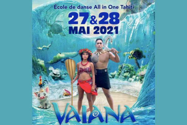Danse : spectacle Vaiana des « All in one »