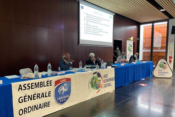 AG Ligue réunionnaise de football