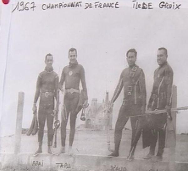jean Tapu aux championnats de france 1967