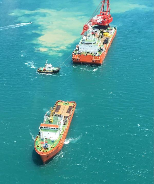 barge chinoise pour kea trader