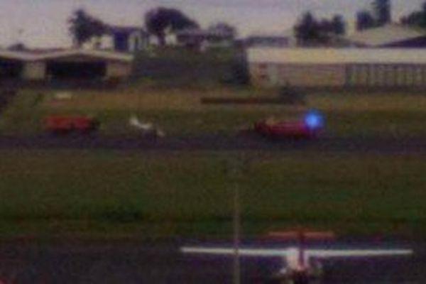 Accident aéronautique à l'aéroport de Tahiti-Faa'a