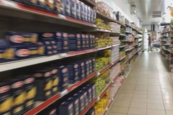 rayon magasin alimenation