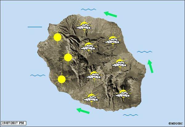 Carte météo du 29 juin 2017