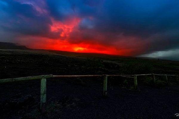 Eruption du 12 août 2019