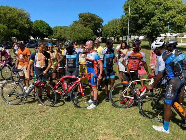 Medhi VOITIER défi cycliste contre l'obésité