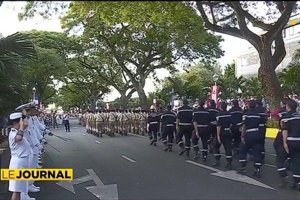 La fête nationale célébrée aussi à Papeete
